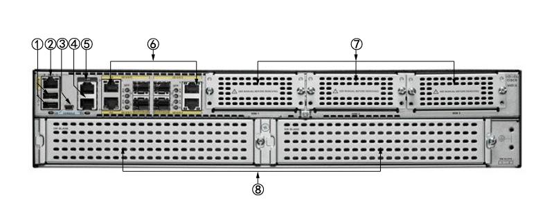 思科ISR4451-X K9路由器